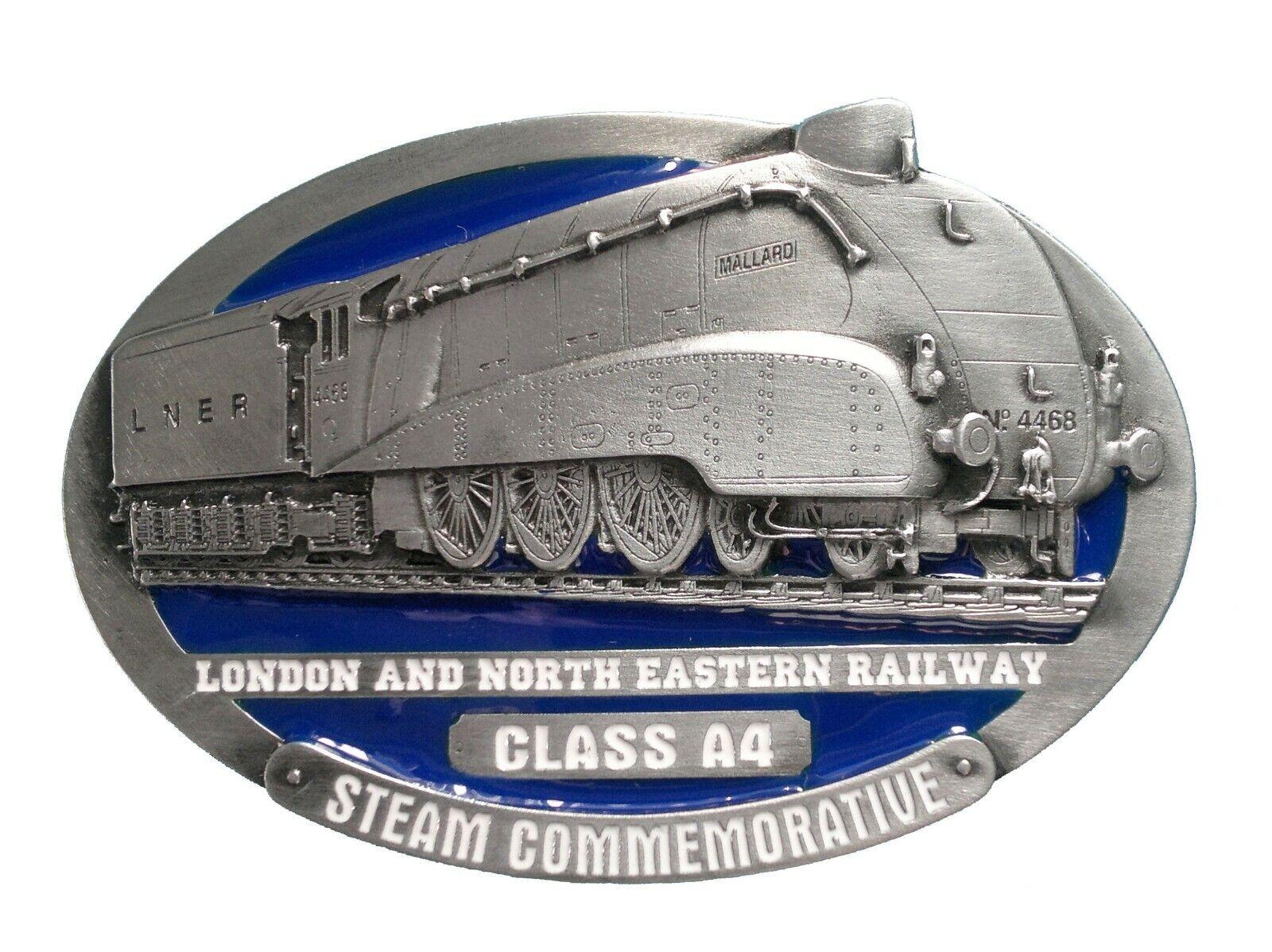 LNER Class A4 Steam Train Belt Buckle with Presentation Box