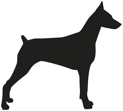 Proud Owner Doberman Pinscher Sticker Decal Vinyl dog canine pet