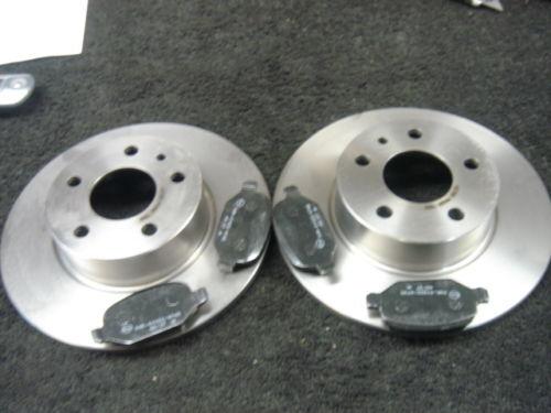 Para Alfa Romeo 156 147 164 Trasero Discos De Freno /& Almohadillas Nuevas