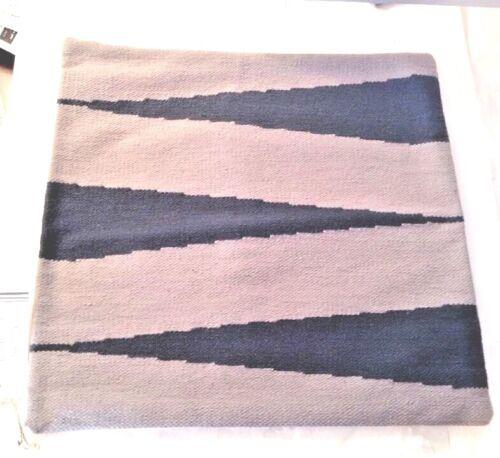 West Elm Steven Alan Stripes ZIGZAG Color Block Gray Blue Aztec Ikat Pillow Sham