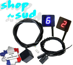 indicateur de vitesse engag sur s lecteur aimant capteur moto 3 coloris dispo ebay. Black Bedroom Furniture Sets. Home Design Ideas