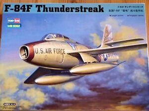 Hobbyboss-1-48-F-84F-Thunderstreak-AIRCRAFT-MODEL-KIT