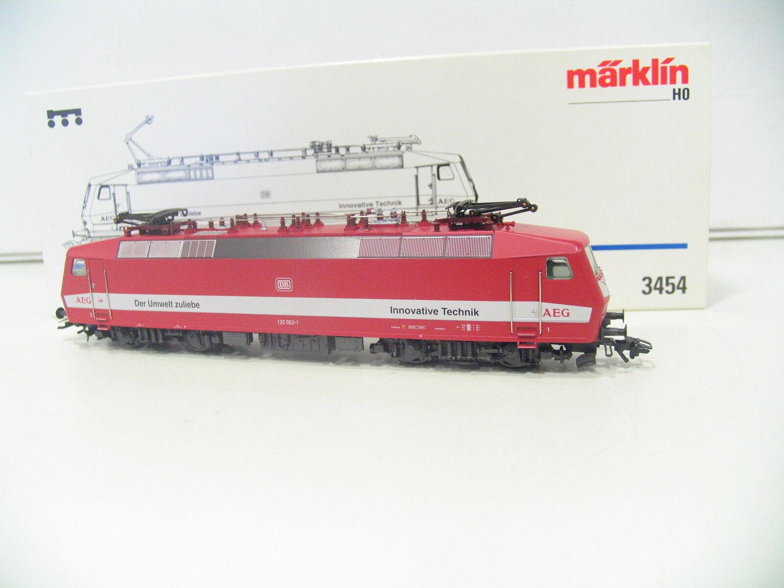 Märklin 3454 E-LOK BR 120 Red AEG DB Delta xl43