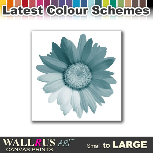 Abstract Sunflower  FLORAL  Canvas Print Framed Photo Picture Wall Artwork WA