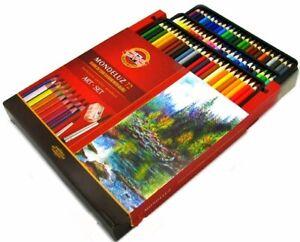 Mondeluz Aquarell Watercolor Pencils 72 colors 3714  KOH-I-NOOR SUPER PRICE