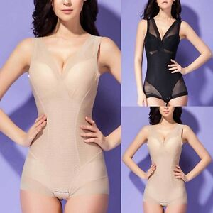 5e2693260d8 Image is loading Women-Seamless-Full-Body-Shaper-Shapewear-Bodysuit-Firm-