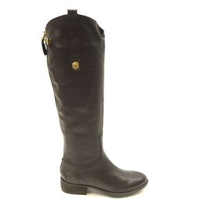 3436ad3eb78b9f New Sam Edelman Womens Penny Leather Riding Boot Park boot riding ...