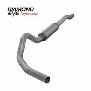 K4212A Diamond Eye Performance Diesel Exhaust Turbo-Back Exhaust System Kit