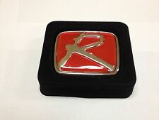 "RED ""R ""HONDA EMBLEM BADGE JDM CIVIC SI ACCORD HONDA INTEGRA TYPE R H LOGO"