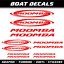 Chaparral stickers XL boat decal fishing Yacht Skipper Wakeboard vinyl