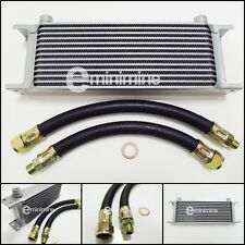 Classic Mini Oil Cooler 13 Row Kit INCLUDING RUBBER Hoses austin car pipes