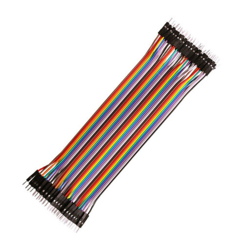 10//20//30cm Dupont Jump Wire Male to Male Jumper Cable Acces Supply 40X 2.54MM