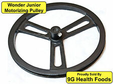 Wonder Junior Pulley - NEW - Motorize Your Wondermill Hand Grain Mill