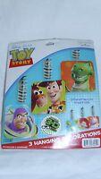 18 Total Disney Pixar Toy Story Hanging Birthday Decorations Buzz Woody Jesse