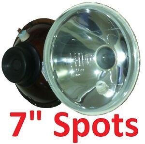 "1pr 7"" Spot Pencil Headlights for Toyota Hilux Landcruiser 40 45 47 55 60 Series"