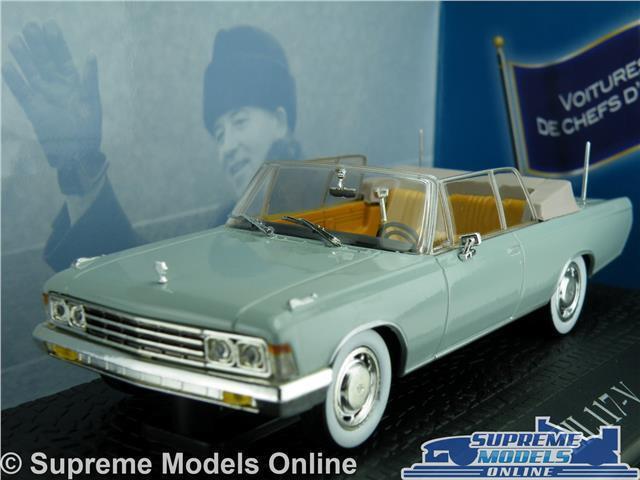 ZIL 117-V MODEL CAR 1 43 SCALE NOREV PRESIDENTIAL MIKHAIL GORBATCHEV 1984 K