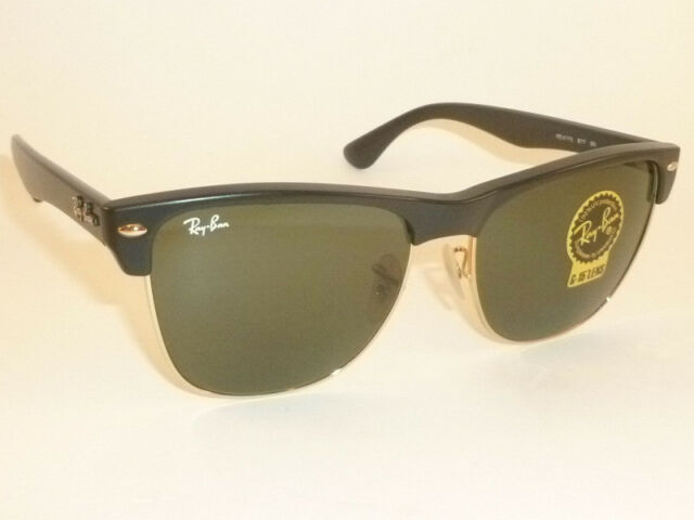 031a0595ef83b New RAY BAN Sunglasses CLUBMASTER OVERSIZED RB 4175 877 Matte Black Frame