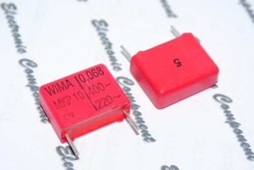 10pcs WIMA MKP10 0.068uF 400V 5/% pich:15mm Capacitor 0.068µF 68nF