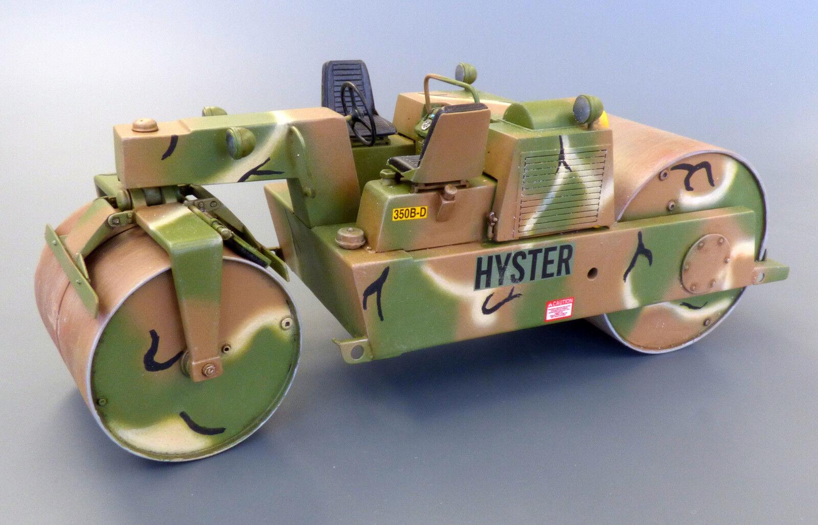 PLUS MODEL  467 Road Roller Detroit Diesel 3-53 Resin Kit in 1 35  | Große Auswahl