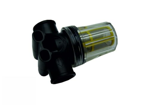 """Pressure Washer Low Pressure In Line Water Filter 1//2/"""" 100 mesh  Clear Bowl"""