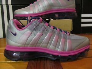 Details about DS Girls Nike Air Max 95 BB GS Silver Pink Purple 7Y Wmns 8.5 512076 005 90 1 97