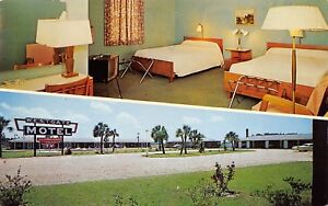 Perry-Florida-1950-60s-Postcard-Westgate-Motel-formerly-DeLuxe-Motel