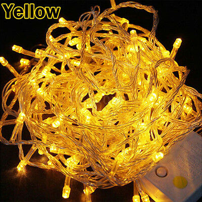 10-200M Fairy Lights 2000LED String Xmas Garden Party Outdoor Wedding Decoration