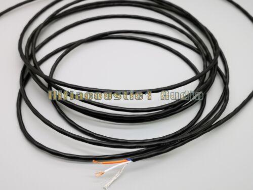 Alambre de cobre trenzado Audio Micrófono Cable de 2 núcleos Hazlo tú mismo RCA XLR AUX
