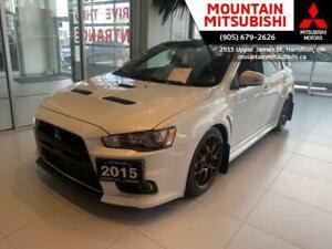 2015 Mitsubishi Evolution GSR FINAL EDITION