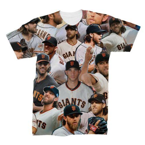 Madison Bumgarner Photo Collage T-Shirt