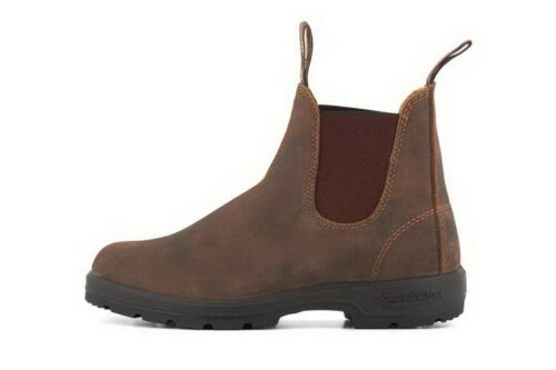 Brown Dress Unisex Ankle Chelsea Boots 585 Leather Rustic Blundstone qxZw67nt5