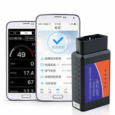 ELM327 USB Interface OBDII OBD2 Diagnostic Auto Car Scanner Bluetooth Android FE
