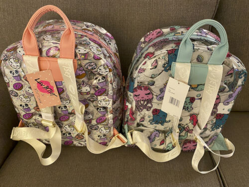 LUV BETSEY JOHNSON Clear Backpacks TWO COLORS  New!
