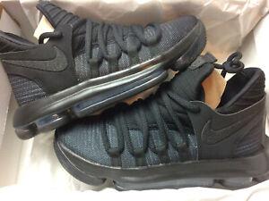 Detalles de Baloncesto Nike Zoom KD10 GS UK 4.5 EU 37.5 Zapatillas 918365 004 Durant Kids ver título original