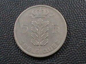 Belgien-5-Franken-1949-Franzoesisch-Maximum-in-USA