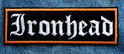 LARGE PANHEAD Biker Motorcycle Patch by Dixiefarmer in Old English