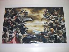 Final Fantasy Dissidia ~ A3 Size Poster / Print ~ NEW