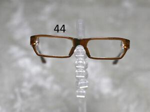 1/3 1/4 BJD SD 60cm 45 eye glasses eyeglasses Dollfie Brown clear lens Style 44
