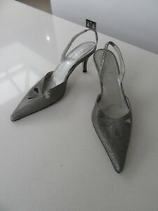 Ladies-Next-Small-Heels-Size-5-38-Great-Colour-Grey