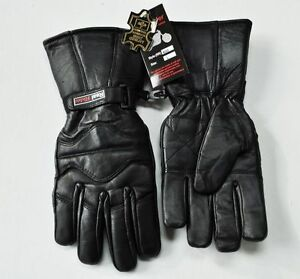 New-Leather-Thinsulate-Motorcycle-or-Medieval-Renaissance-Gauntlet-Gloves