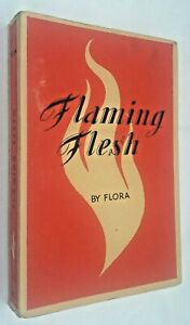 Flaming-Flesh-by-Flora-French-Stiff-Card-Wrapped-Edition-1950-039-s