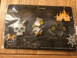 Disney-Store-Minnie-Mouse-The-Main-Attraction-Pins-2-12-Pirates-of-the-Caribbean
