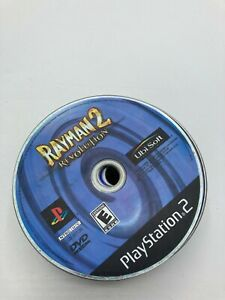 Sony PlayStation 2 PS2 Disc Only TESTED Rayman 2: Revolution