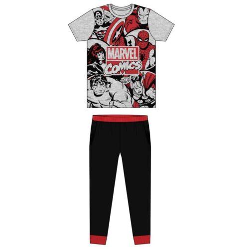 Mens Character Pyjamas Adults Sleepwear Pjs