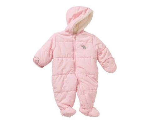 NWT Baby Infant Girl Boy Carters Snow Suit Winter Fleece Coverall 0-3-6-9 Months