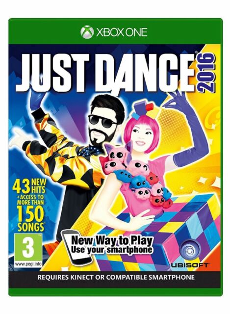 JUST DANCE 2016 '16 Xbox One Microsoft XBOX1 Game UK Release Brand New Sealed