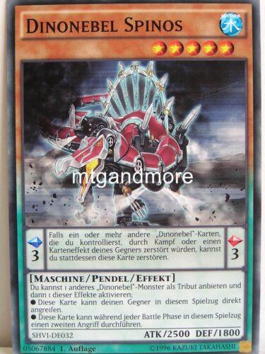 3x dinonebel spinos-shvi-shining victories Yu-gi-oh