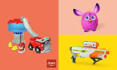 Save up to 1/2 Price on selected Toys