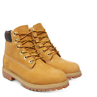 TIMBERLAND Boots Junior׳s Juniors Shoes 6 Inch Premium Leather 12909 New In Box