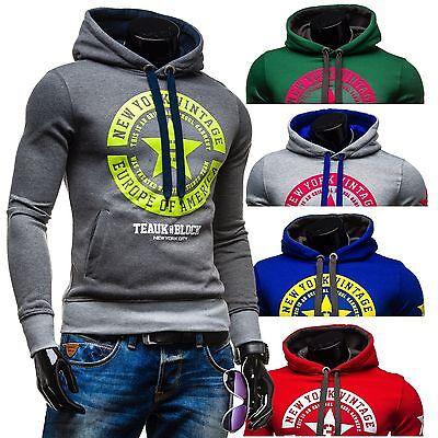 BOLF Stegol 1056 Kapuzenpullover Sweatshirt Motiv Print Men Sweatjacke 1A1 TOP